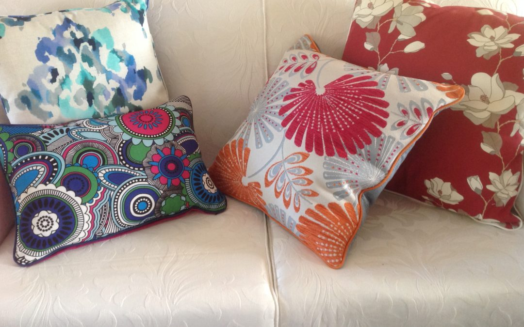 Mix and match scatter cushions