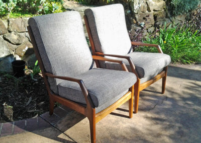 Recovered 70s TV Chairs