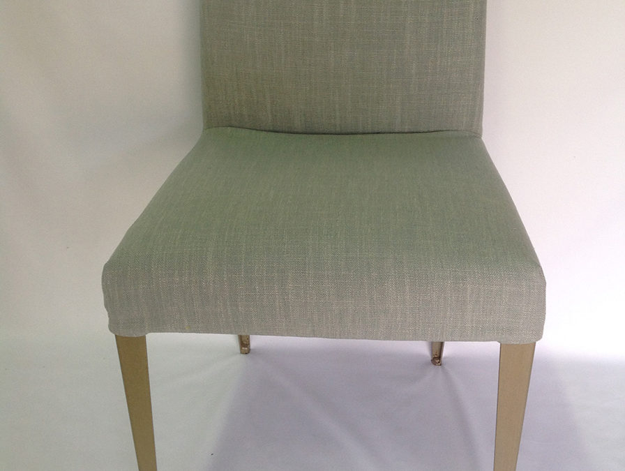 Removable covers for dining chairs
