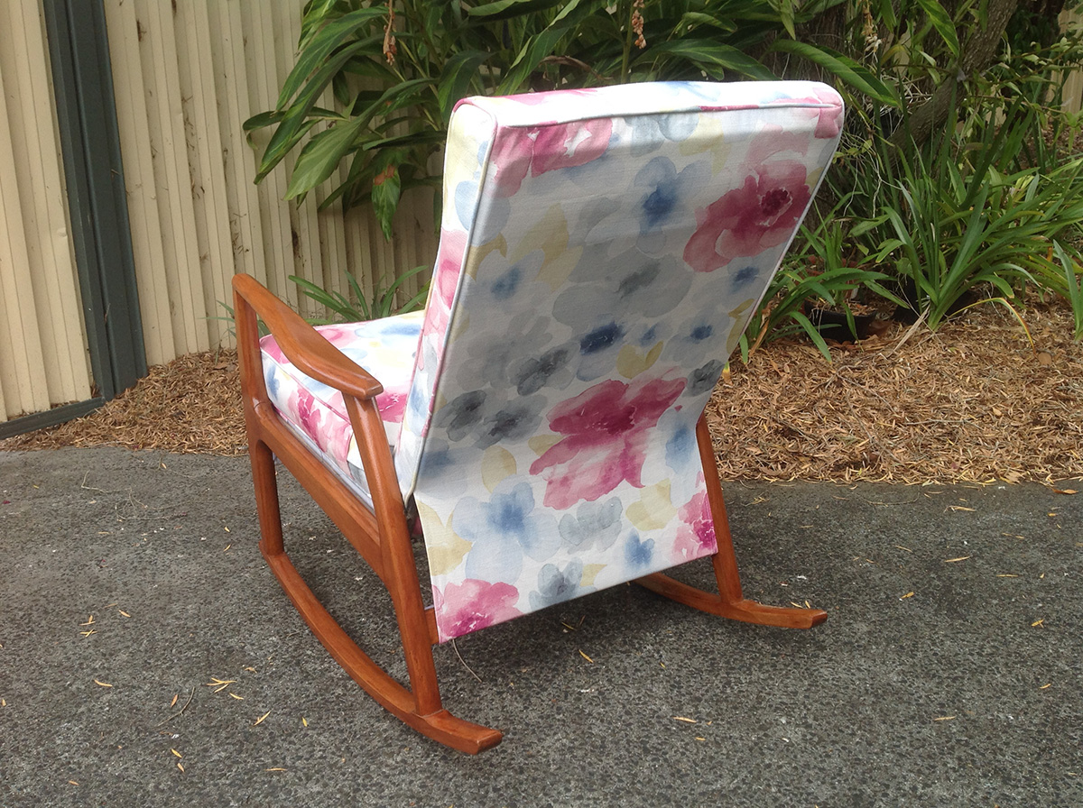 retro armchairs recovered 1