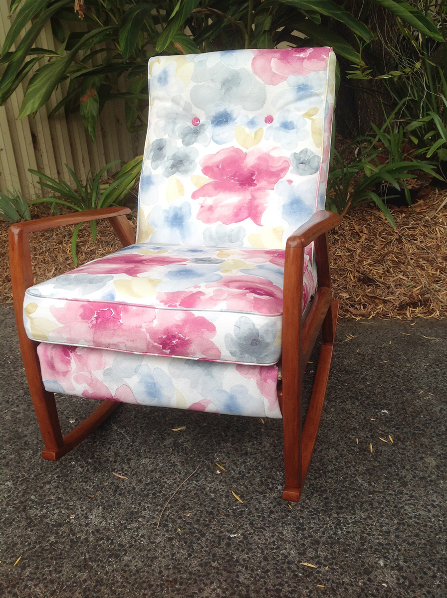 retro armchairs recovered 2