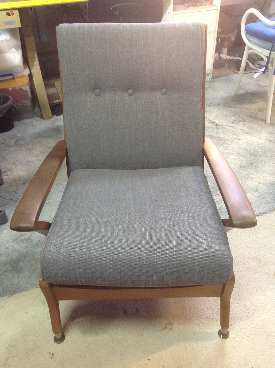 retro armchairs recovered 3